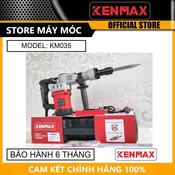 Máy đục 17ly Kenmax KM035- HÀNG CHÍNH HÃNG