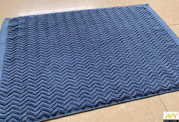Thảm Chân Cao Cấp, 100% COTTON, dày dặn, mềm mạn, thấm hút tốt, không phai màu, Thảm chân khách sạn 45x65cm
