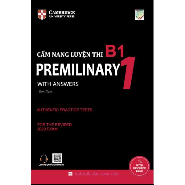 Sách - Cẩm nang luyện thi B1 (Preliminary 1 with Answers)