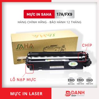 Hộp mực in HP 17A - Máy in LaserJet Pro M101, 102 MFP M130 (Có chip - Có nắp nạp mực) SAHA thumbnail