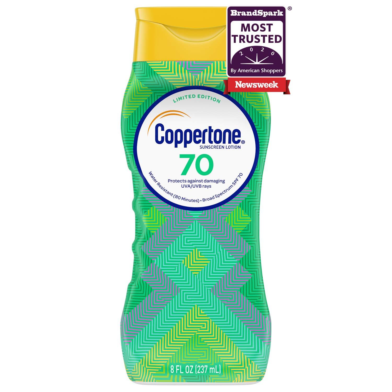 Kem chống nắng Coppertone UltraGuard Sunscreen Lotion Broad Spectrum SPF 70 237ml (Mỹ)