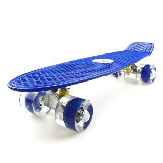 (CÓ ĐÈN LED)Ván trượt cao cấp,Ván trượt thể thao cao cấp Skateboard cỡ lớn bánh cao su đục mẫu mới 2021,Ván Trượt 4 Bánh, Chất Lượng Nhựa Dẻo, Bánh Xe Có Led thumbnail