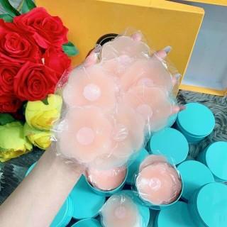 Hộp 10 miếng dán ti silicon - Miếng dán ngực chống nước - Miếng dán nhũ hoa,áo dán silicon, hộp dán ti, nhũ hoa, dán ti silicon thumbnail