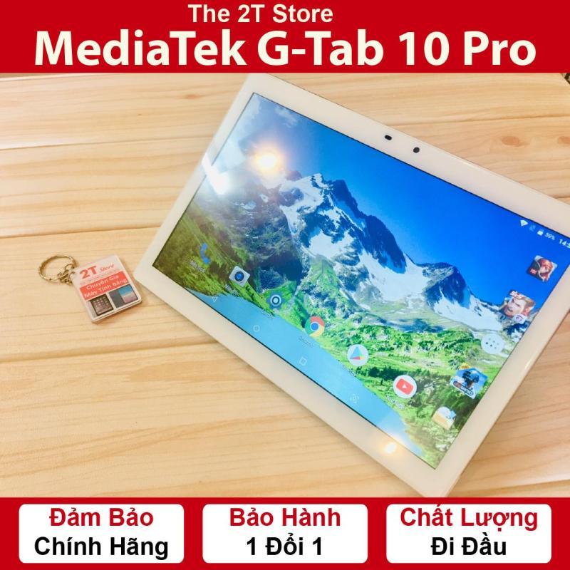 Máy tính bảng Gtab 10 Pro 3GB RAM (Wifi+3G) (Màu Bạc Xám) (Hàng nhập khẩu)