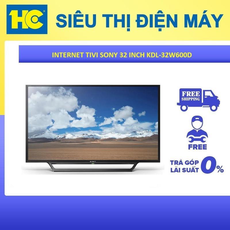 Bảng giá Internet Tivi Sony 32 inch HD KDL-32W600D - Bảo hành 2 năm - Miễn phí vận chuyển & lắp đặt - hỗ trợ trả góp