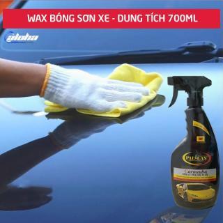 PALLAS Spray Polish Wax 700ml,Dung dịch dưỡng bóng sơn xe ,chai xịt dưỡng bóng sơn xe máy, làm nổi bật màu sắc sơn xe, wax dưỡng bóng bảo vệ mặt sơn xe máy, xe hơi, ô tô-P-0701 thumbnail