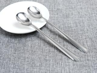 [1CÁI] Muỗng uống cafe cán dài & đá chanh hoặc ăn kem, inox không gỉ - Chiều dài 20cm thumbnail