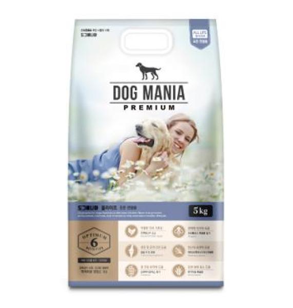 Thức ăn hạt Dog Mania Premium 5kg (Chó)