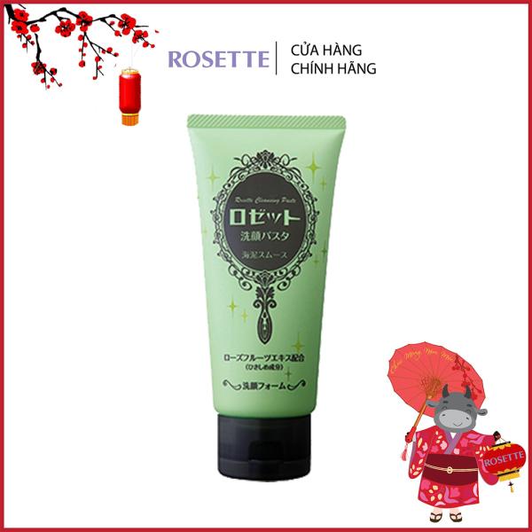 Sữa Rửa Mặt Thu Nhỏ Lỗ Chân Lông Rosette Face Wash Pasta Sea Clay Smooth 120g