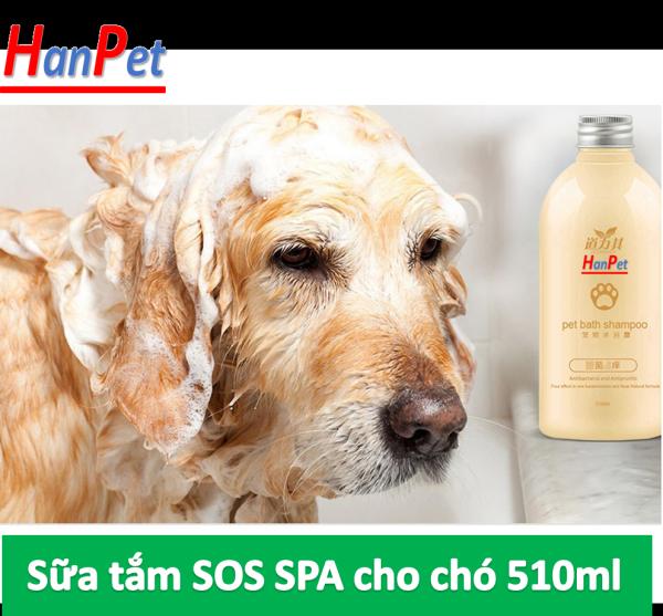 HCM- Sữa Tắm SOS (Đủ màu )- 530ml - Dành cho tất cả các loại chó mèo dầu tắm chuyên dụng cho các spa chuyên nghiệp - dầu gội đầu chó /  sữa tắm mèo / dầu gội chó mèo