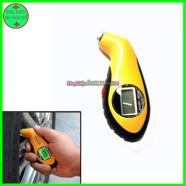 Đồng hồ đo áp suất lốp xe hiển thị LCD