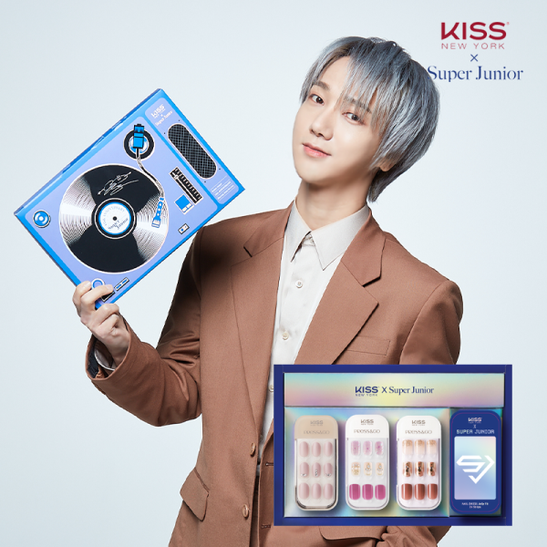 [KISS NEW YORK X SUPER JUNIOR] 15TH ANNIVERSARY COLLAB SET (YESUNG) giá rẻ