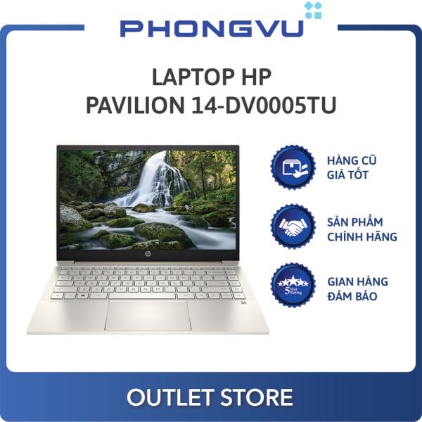 Bảng giá Laptop HP Pavilion 14-dv0005TU (2D7A1PA) (i3-1115G4) (Vàng) - Laptop cũ Phong Vũ