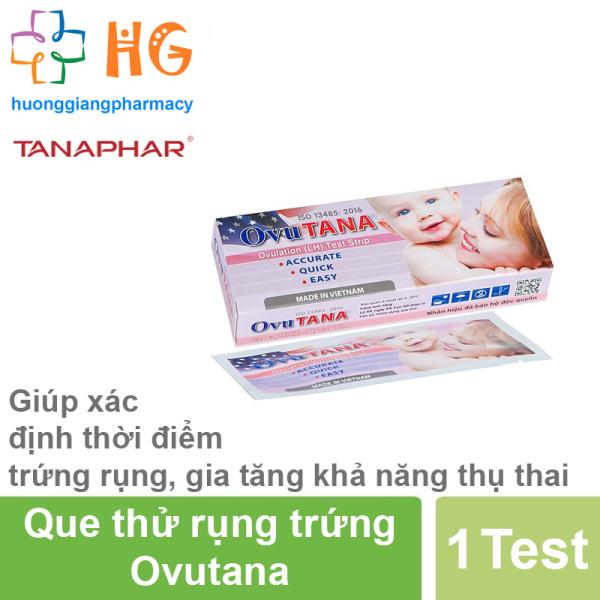 Que thử rụng trứng Ovutana (Hộp 1 Que)