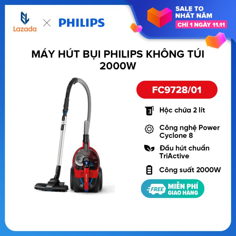 Máy hút bụi Philips không túi FC9728/01 2000W - Hàng phân phối chính hãng
