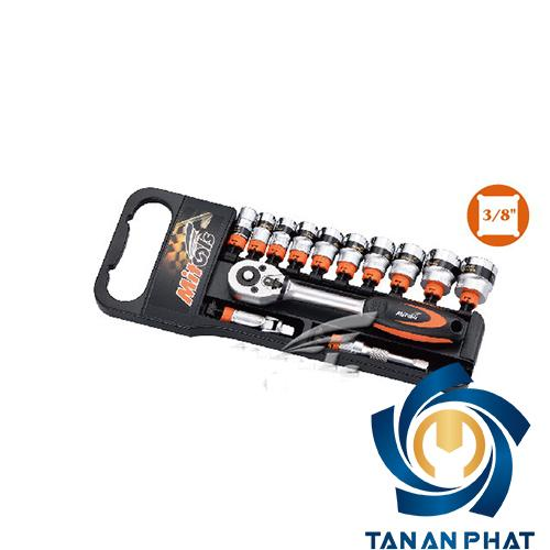 Bộ tuýp 3/8 inches MITOOLS 0131301, 14 chi tiết