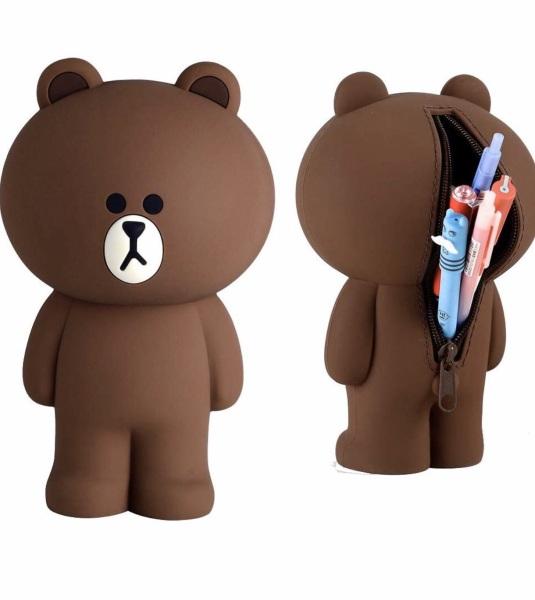 Mua Hộp bút gấu Brown silicone