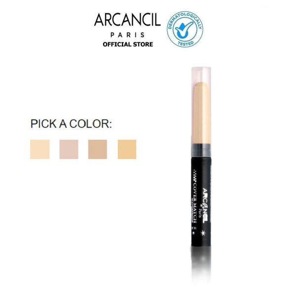 Kem che khuyết điểm Arcancil Cover Match Dark Circles and Imperfections Corrective Concealer 2.5g