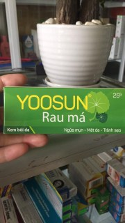 kem yoosun rau má ngừa mụn mát da liền sẹo thumbnail
