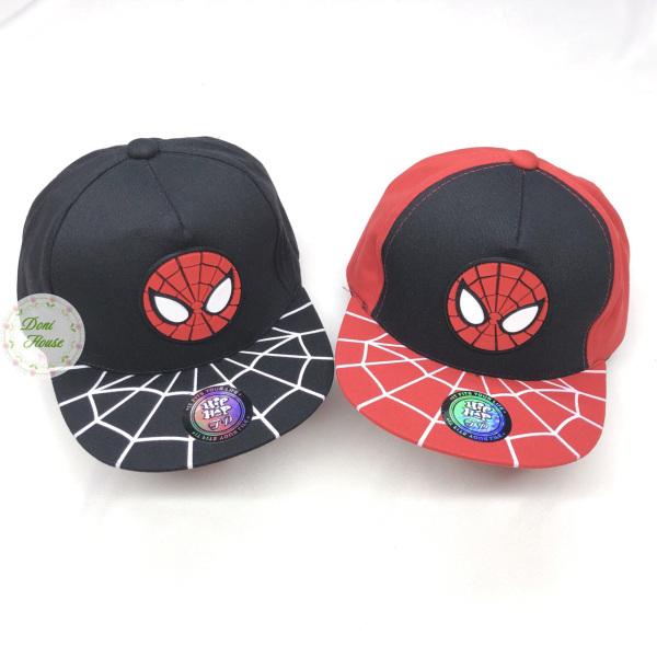 [Bé 3-6 tuổi] Nón Kết, Mũ Lưỡi Trai Hình Người Nhện Spiderman Cho Bé Trai Cá Tính NK20