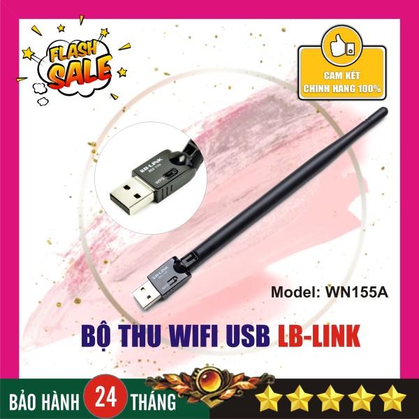 Bảng giá Bộ thu sóng wifi có râu - tốc độ cao - LB-LINK WN155 - Chính hãng Phong Vũ