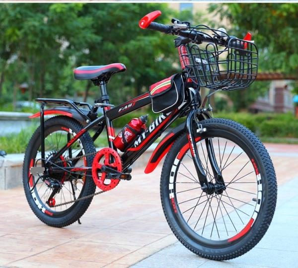 Mua Xe đạp trẻ em dáng thể thao Size 24 inch phù hợp cho bé 9-15 tuổi (Đỏ,Xanh)