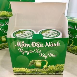 ĐẬU NÀNH VIỆT NAM - MẦM ĐẬU NÀNH NGUYÊN XƠ - ĐẬU NÀNH TA- 1kg 2 hộp - Mầm đậu nành nguyên sơ. thumbnail