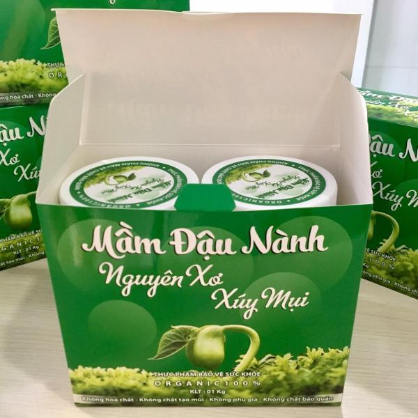 ĐẬU NÀNH VIỆT NAM - MẦM ĐẬU NÀNH NGUYÊN XƠ - ĐẬU NÀNH TA- 1kg 2 hộp - Mầm đậu nành nguyên sơ. giá rẻ