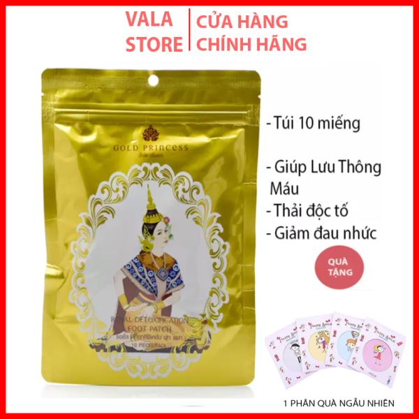 Miếng Dán Thải Độc Chân Gold Princess Royal Thái lan Chính Hãng