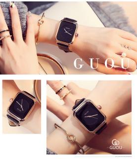 Đồng hồ Nữ GUOU TICHIS Dây Mềm Mại đeo rất êm tay - Kiểu Dáng Apple Watch 40mm - Đồng hồ nữ cao cấp, Đồng hồ nữ kính sapphire, Đồng hồ nữ thời trang, Đẹp,Sang trọng,Đẳng cấp, Bền, Giá Sốc, Đồng hồ nữ hàn quốc 3