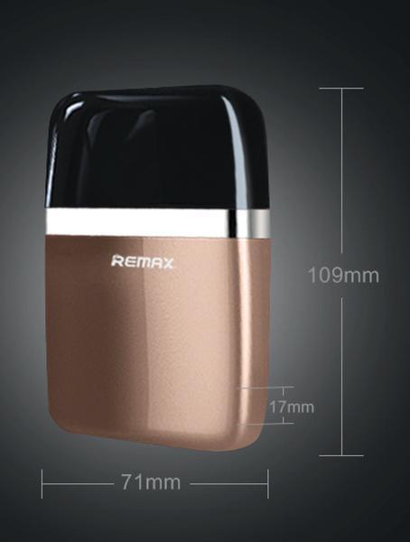 Pin sạc dự phòng 6.000mAh thời trang Remax RPP-16 (Nâu) - BH 12T lỗi đổi mới