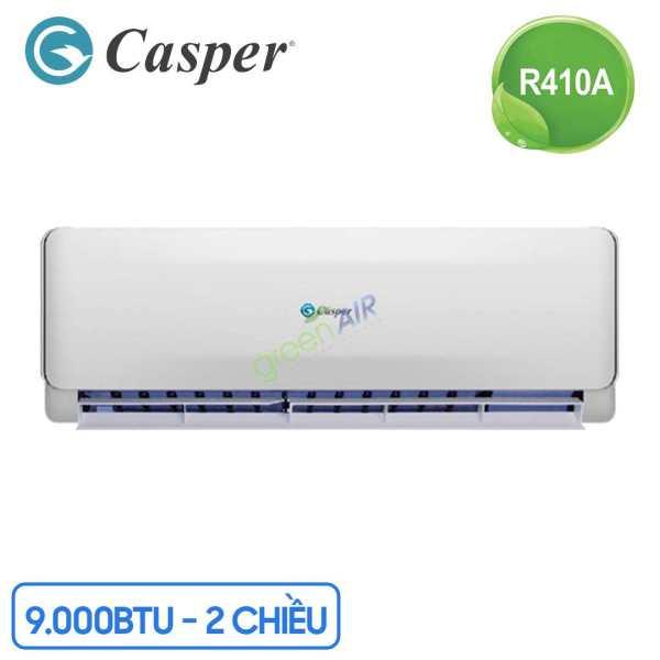 Máy lạnh - Điều Hòa Casper 9000BTU 2 Chiều EH-09TL22 Gas R-410A - Nhập khẩu chính hãng Thái Lan - Bảo hành 3-5 năm
