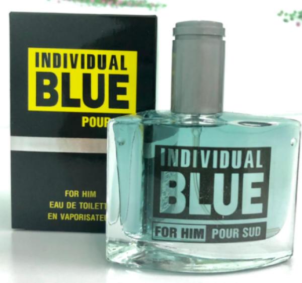 [Combo sỉ] 10 Chai Nước Hoa Nam Individual Blue Pour Sud 50ml (Xám Vàng)