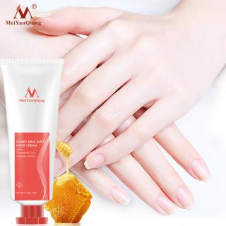 MeiYanQiong Kem dưỡng da tay chiết xuất mật ong sữa giúp làm trắng và phục hồi làn da chống nứt nẻ dưỡng ẩm - INTL thumbnail