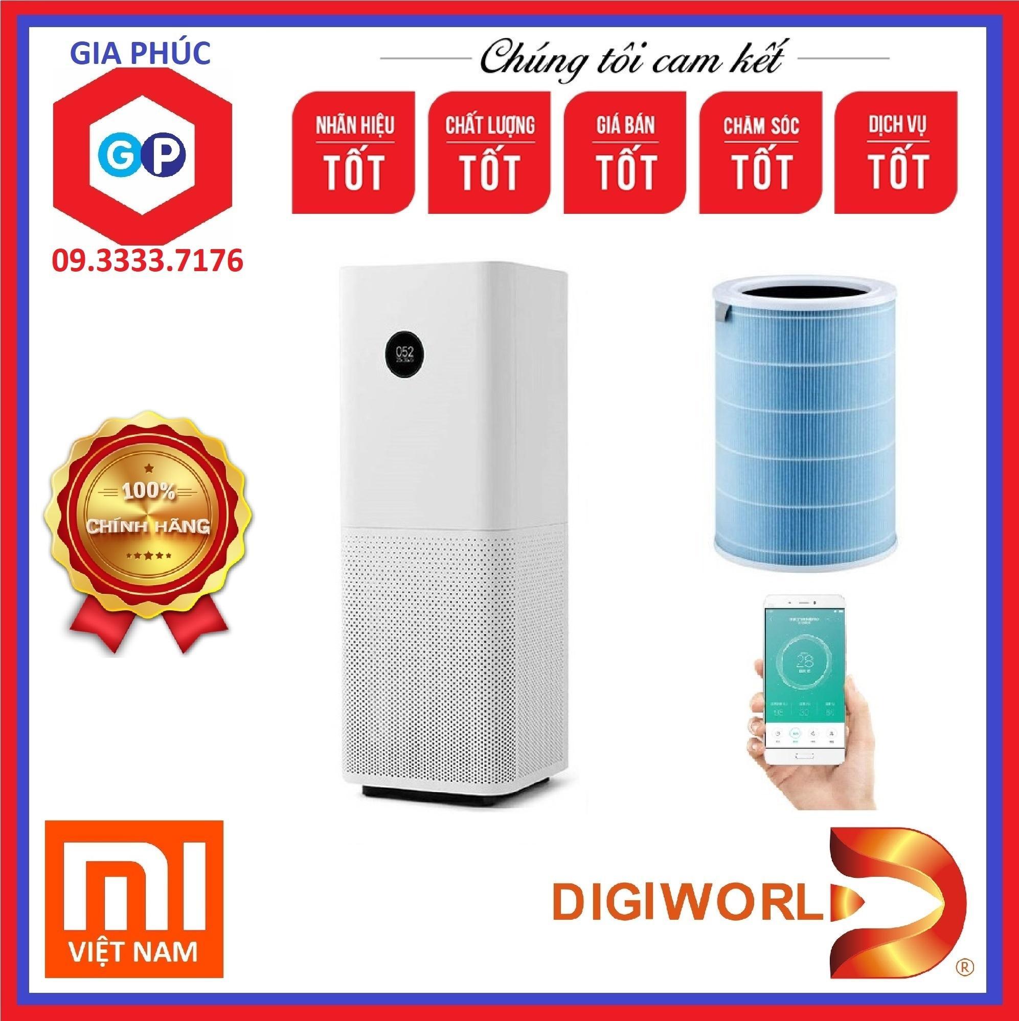 Bảng giá Máy lọc không khí Xiaomi Pro Mi Air Purifier (Quốc Tế Version) - Digiworld Phân Phối