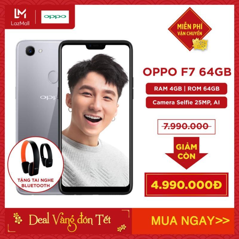 OPPO F7 64GB - Hãng phân phối chính thức