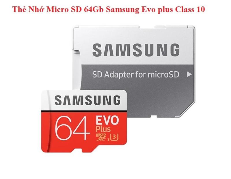 Thẻ Nhớ Micro SD 64Gb Samsung Evo plus Class 10