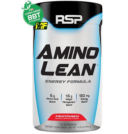 RSP Amino Lean (70 liều dùng) Xây Dựng Cơ Nạc - Giảm Mỡ Tự Nhiên