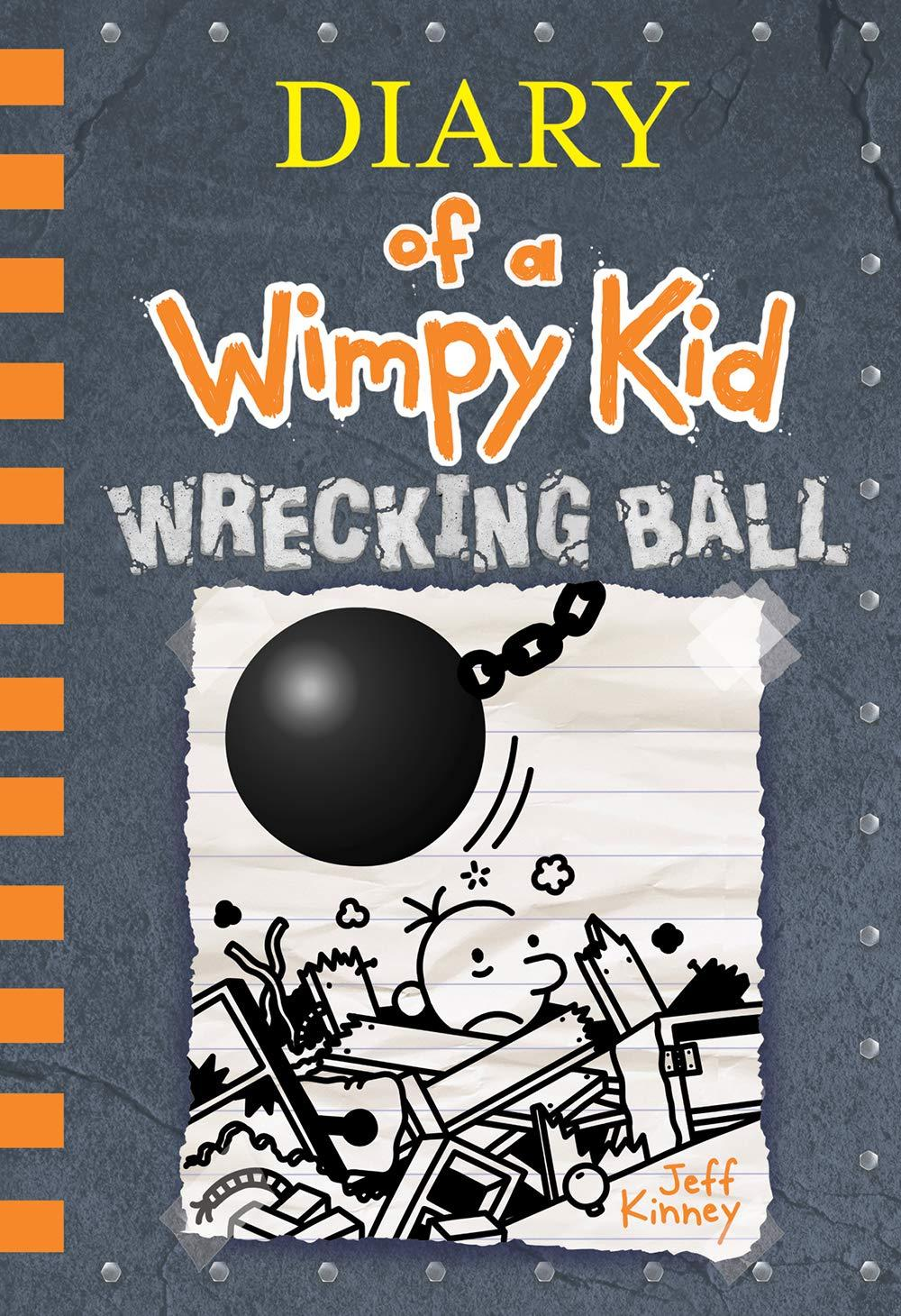 Diary Of A Wimpy Kid #14 - Wrecking Ball (UK Edition - Hardcover) Giá Rất Tiết Kiệm