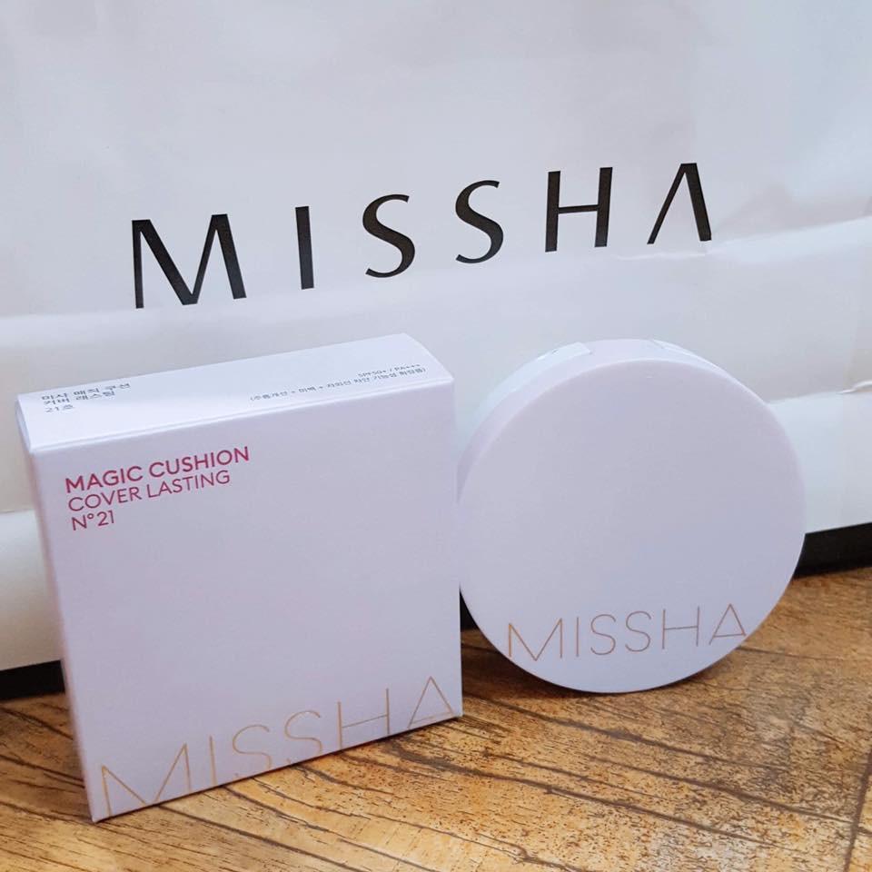 Phấn Nước Missha M Magic Cushion SPF 50+ PA+++ nhập khẩu
