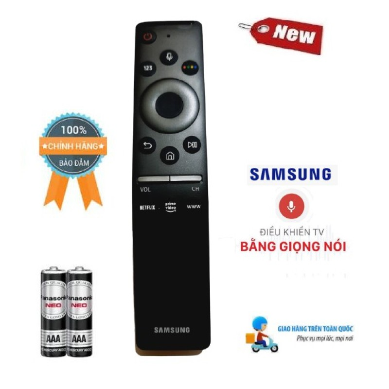 Điều khiển giọng nói tivi Samsung RU2019 cho các dòng tivi Samsung từ 2015 đến 2020- Hàng mới chính hãng Tặng kèm Pin chính hãng