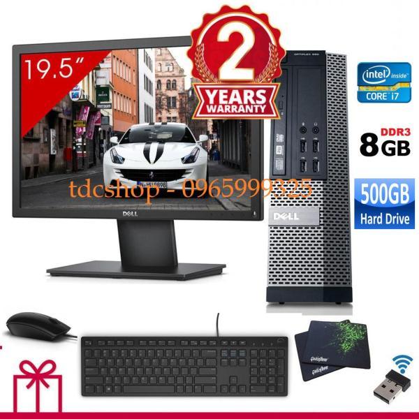 Bảng giá Máy tính để bàn Dell Optiplex 990 ( Corei7 / 8g / 500g ), Màn Hình Dell 20inch. Tặng bàn phím chuột Dell , usb wifi. Hàng Nhập Khẩu Phong Vũ