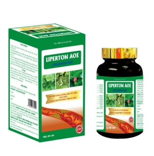 LIPERTON AOE Viên uống hạ mỡ máu, hỗ trợ giảm cân, hạn chế tích tụ mỡ dư thừa. thumbnail