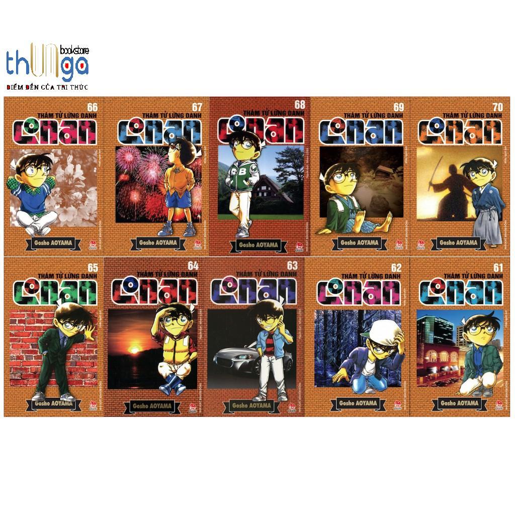 Offer Khuyến Mại Sách - Combo 10 Quyển Truyện Conan đuợc Chọn Tập