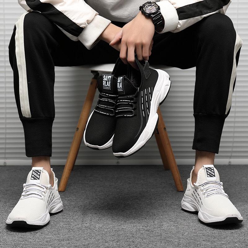 Giày thể thao nam năng động G999, giày sneaker nam đế cao su phù hợp chạy bộ tập gym Khang Sport