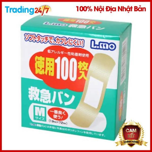 Set 100 miếng urgo dán vết thương hàng nội địa Nhật Bản