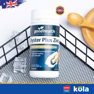 Tinh chất hàu Úc Goodhealth Oyster Plus Zinc 60 viên thumbnail