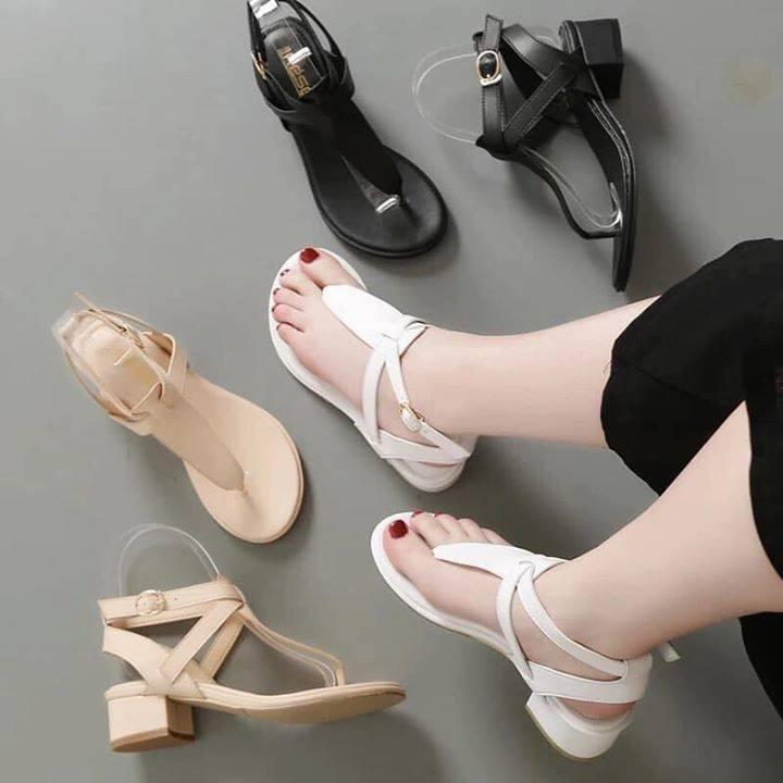 Sandal Xỏ Ngón Hở Gót - SD357 Bất Ngờ Giảm Giá