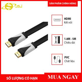 Cáp HDMI 2.0 JSJ JB-H600 dài 1.8m - 5m thân dây đúc liền mạch đấu nối mạ vàng lớp nhựa PVC bảo vệ chống chịu được va đập chất lượng hình ảnh sắc nét lên tới 4K hỗ trợ 3D IMAX màn hình lớn thumbnail