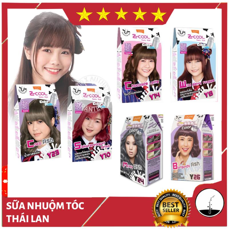 Thuốc Nhuộm Tóc Z Cool Color Milk Thái Lan - LOLANE, Tự nhuộm tóc đơn giản tại nhà - NT002 nhập khẩu